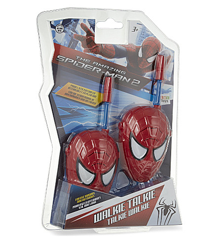 SPIDERMAN Spiderman face walkie talkies