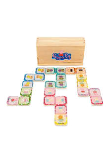 PEPPA PIG Peppa wooden dominoes
