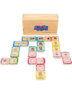 PEPPA PIG Peppa wooden dominoes