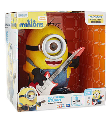 Minion Stuart With Guitar Minions Rock 'n Roll Stuart