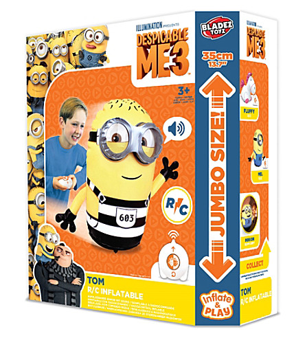 DESPICABLE ME Radio controlled inflatable Tom minion