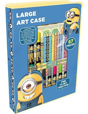 MINIONS Despicable Me large art case