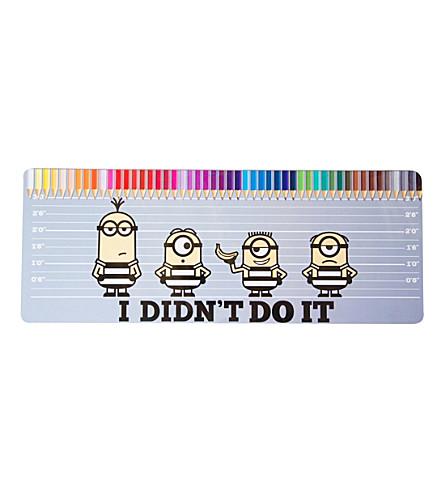 DESPICABLE ME Minions 50 piece colouring pencil tin