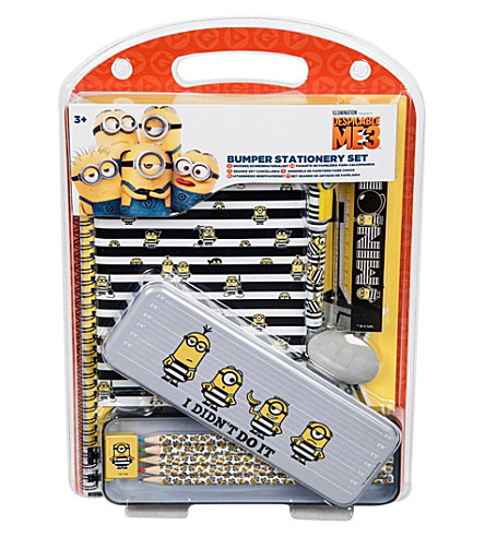 DESPICABLE ME Bumper stationery set
