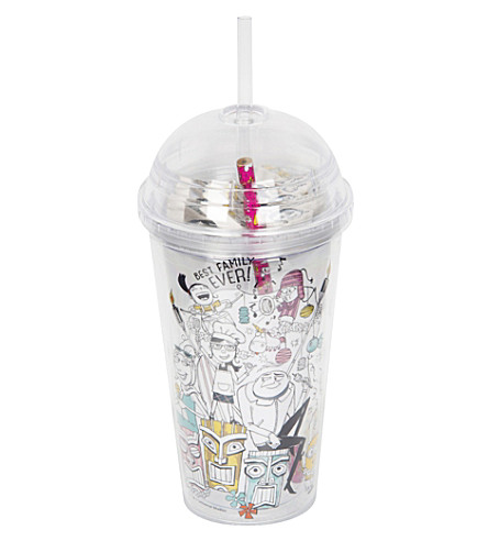 DESPICABLE ME Cup with pencil and erasers