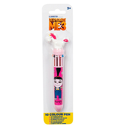 DESPICABLE ME Despicable Me 3 unicorn 10 colour pen