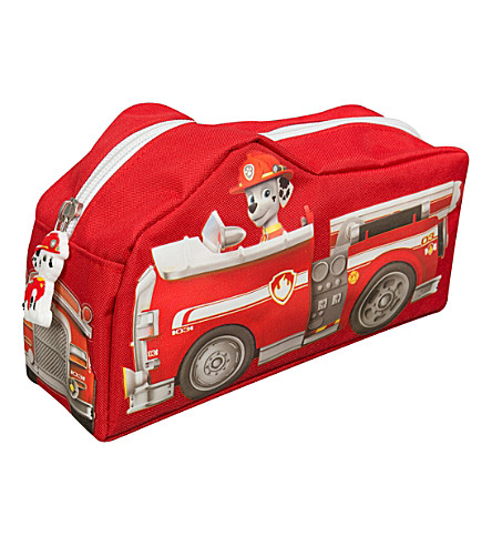 PAW PATROL Fire engine pencil case