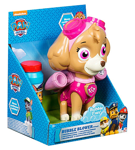PAW PATROL Paw Patrol skye bubble blower