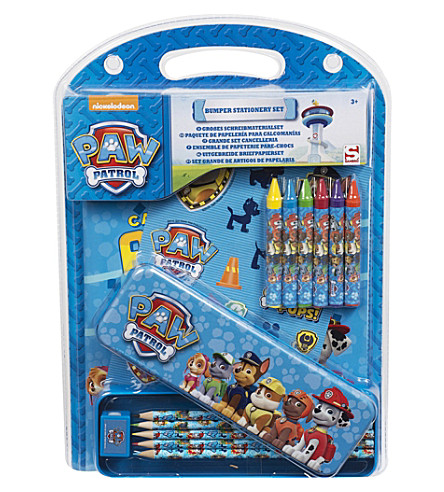 PAW PATROL Bumper Stationery set