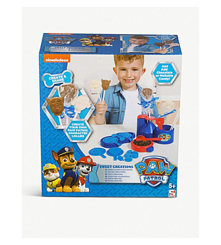 PAW PATROL Boys Sweet Creations kit