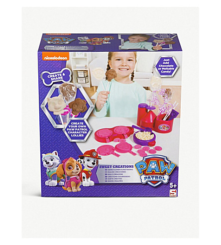 PAW PATROL Girls Sweet Creations kit