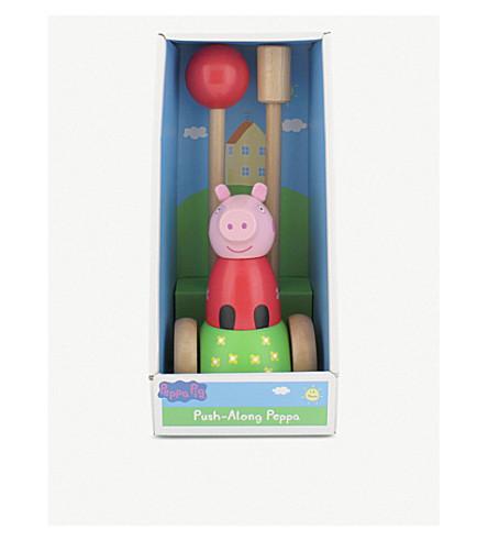 PEPPA PIG 推沿木制玩具