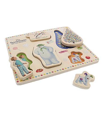 SNOWMAN & THE SNOWDOG Snowman & the Snowdog play tray