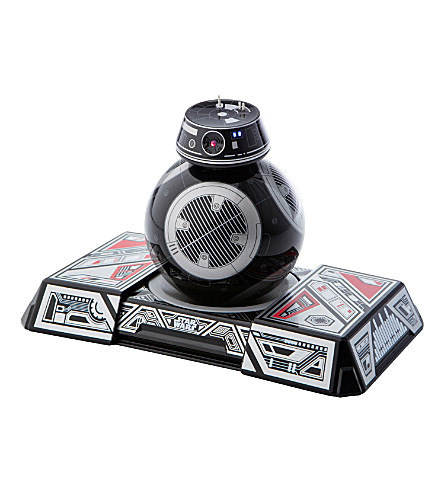 STAR WARS Sphero BB-9E app-enabled droid with droid trainer