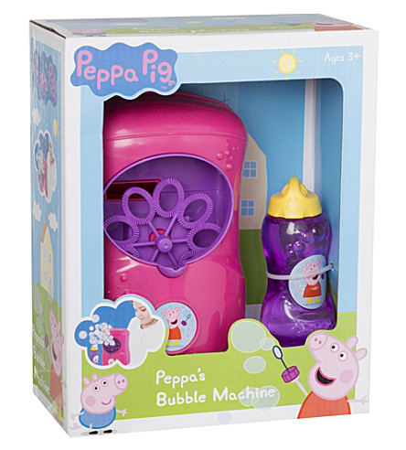 PEPPA PIG Peppa pig bubble machine