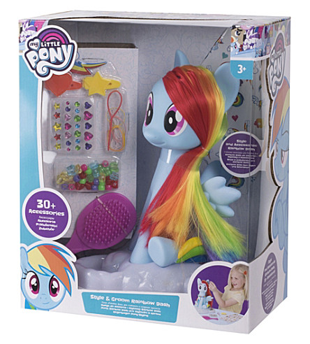 MY LITTLE PONY My Little Pony Rainbow Dash, Style and Groom set