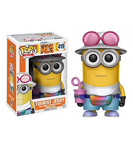 DESPICABLE ME Pop! vinyl jerry the tourist minion figure