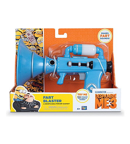DESPICABLE ME Despicable me fart blaster toy