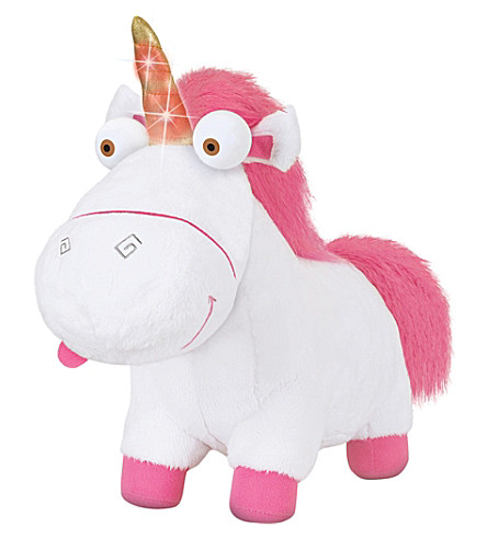 DESPICABLE ME Despicable me 3 light-up unicorn plush toy