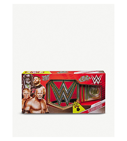 WWE Deluxe Universal Championship title belt