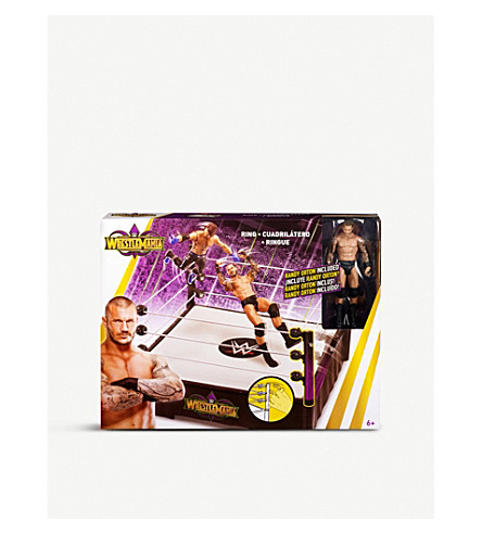 WWE Wrestlemania Randy Orton playset