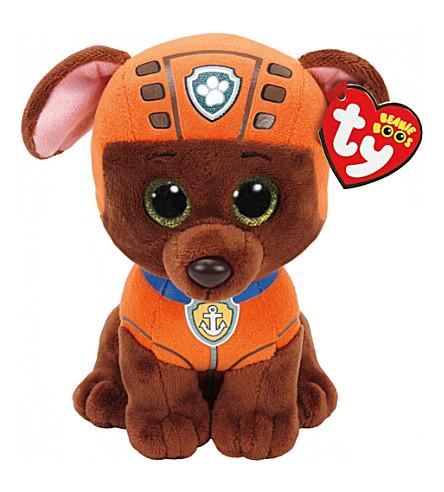 PAW PATROL Ty Zuma beanie soft toy