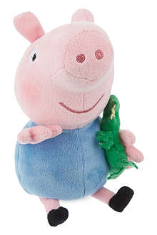 PEPPA PIG George beanie baby