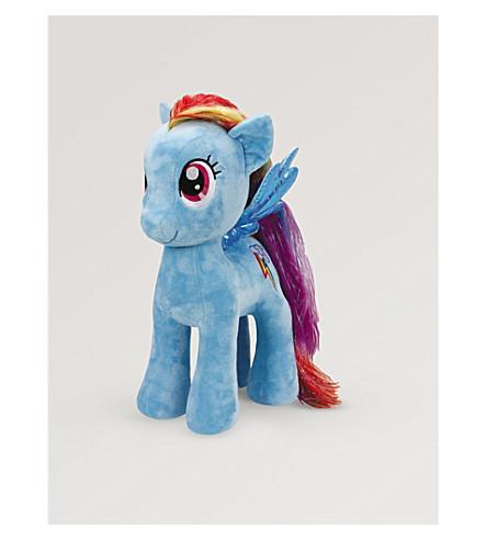 MY LITTLE PONY Dash rainbow soft toy XL