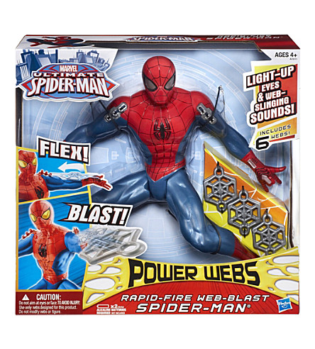 SPIDERMAN Rapid-Fire Web-Blast figure