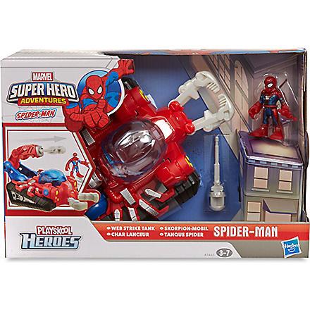 SPIDERMAN Spider-man Web Strike Tank