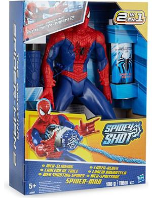 SPIDERMAN Spidey shot web shooting giant figurine