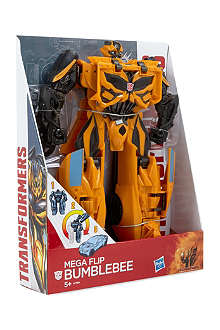TRANSFORMERS Mega One Step Bumble Bee action figure