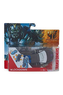 TRANSFORMERS One-Step Lockdown figurine