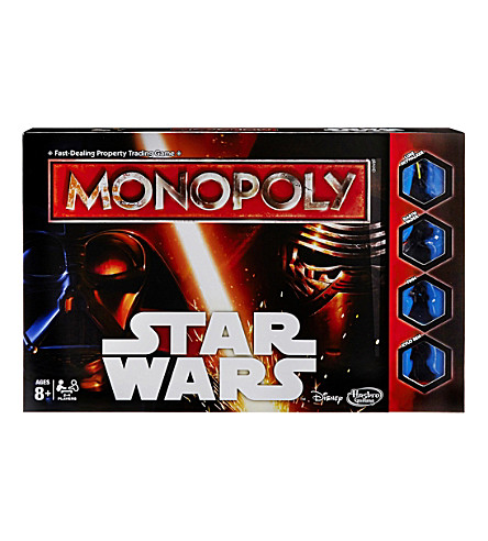 STAR WARS Monopoly board game