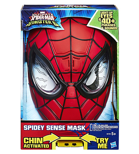SPIDERMAN Ultimate spider-man sinister 6 spidey sense mask