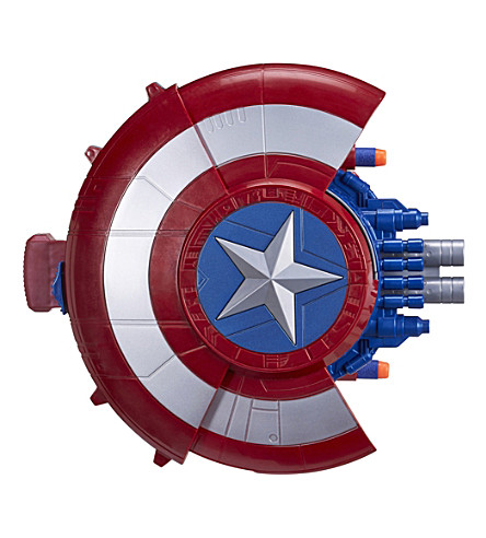 MARVEL AVENGERS Captain America blaster shield