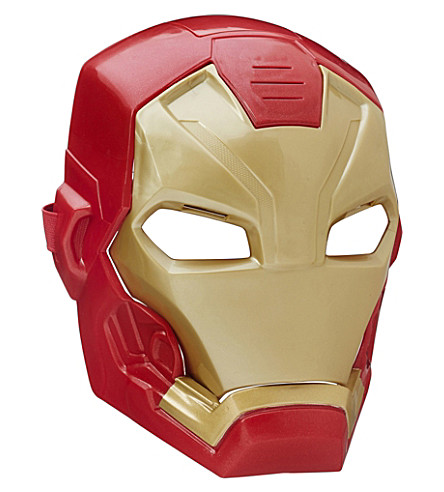 MARVEL AVENGERS Iron Man tech FX mask