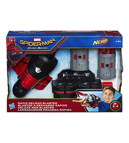 SPIDERMAN Spiderman rapid reload blaster