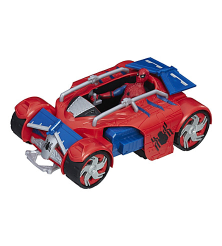 SPIDERMAN Spiderman web city action vehicle