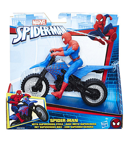 SPIDERMAN Spiderman Supercross Cycle