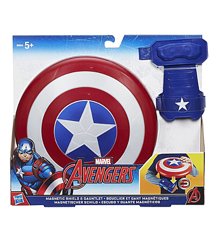 MARVEL AVENGERS Magnetic shield and gauntlet