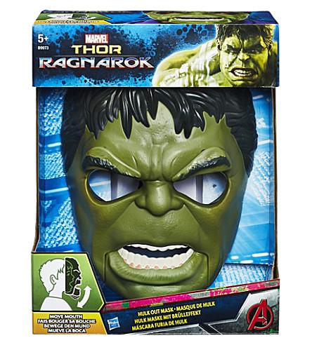 MARVEL AVENGERS Thor Ragnarok Hulk out mask