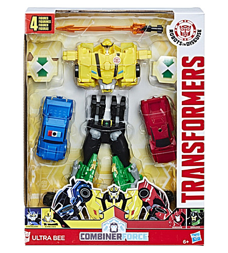 TRANSFORMERS Robots in disguise team combiner ultra bee 4-pack