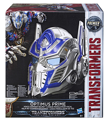 TRANSFORMERS Optimus Prime Voice Changer Helmet