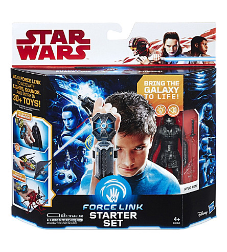 STAR WARS The Last Jedi Force Link starter set