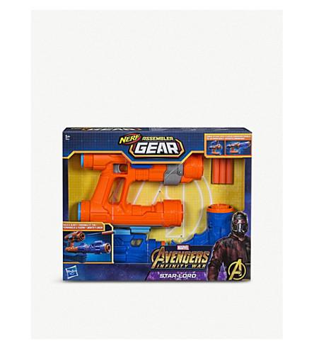 MARVEL AVENGERS Infinity War Nerf Assembler Gear Star-Lord Gun