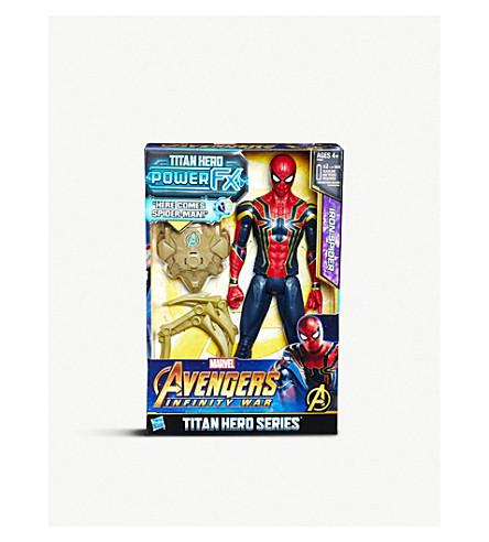 MARVEL AVENGERS Infinity War Titan Hero Series Iron Spider 30cm