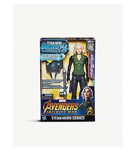 MARVEL AVENGERS Infinity War Titan Hero Series Black Widow 30cm