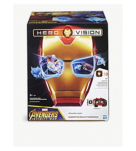 MARVEL AVENGERS Iron Man Hero Vision Augmented Reality Experience