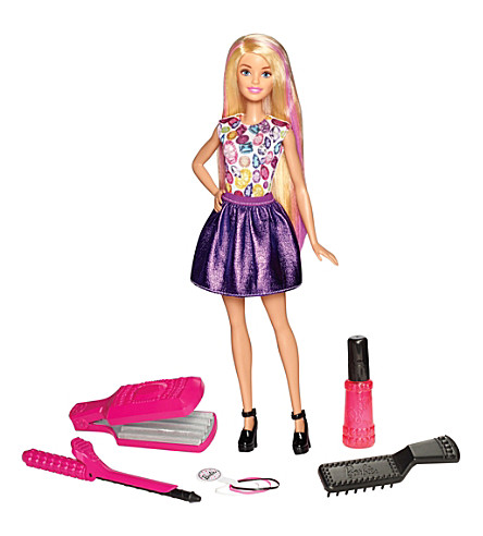 BARBIE Crimp and Curl hairstyling doll